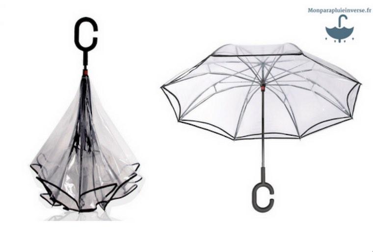 Un parapluie inversé tendance pour le mariage
